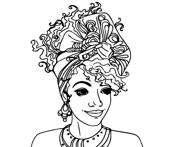 African American Woman Coloring Pages Coloring Books Coloring Pages African