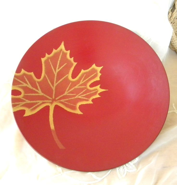 "Red Lacquer Ware Bowl Gold Maple Leaf Design, Vintage Item, Marked Ko Ho Ro Japan, 11 3/4"" Diameter, Great for Autumn Decor, Asian Decor by RitasGarden on Etsy"
