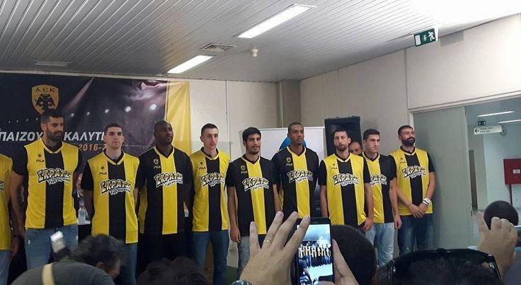 Οι νέες φανέλες της ΑΕΚ (pics) > http://arenafm.gr/?p=236820