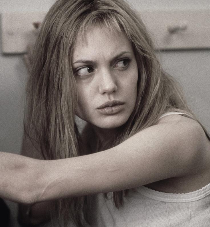 Angelina Jolie as Lisa Rowe in Girl, Interrupted 1999