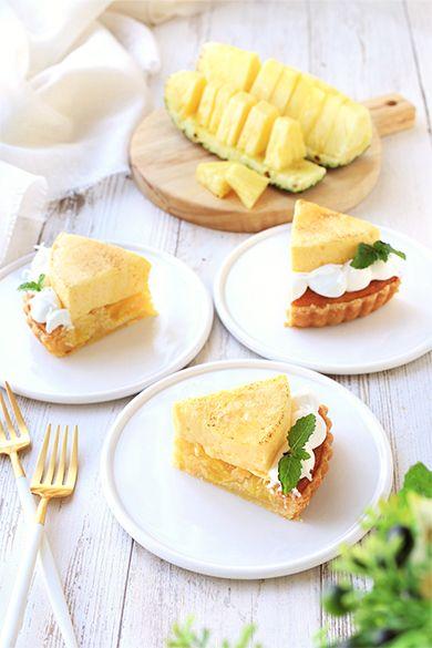 「パイナップルのタルト・シブースト♪」YUKA | お菓子・パンのレシピや作り方【cotta*コッタ】