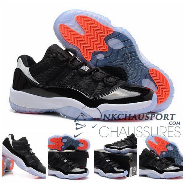 Nike Air Jordan 11 | Classique Chaussure De Basket Homme Cuir Noir-6