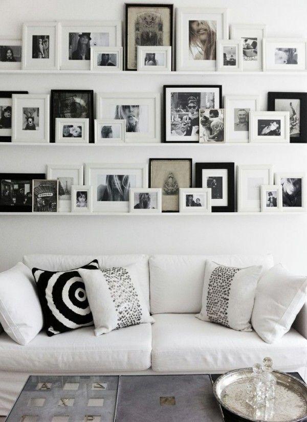 6 Methoden Für Bilder Aufhängen Ohne Bohren Wohnzimmer