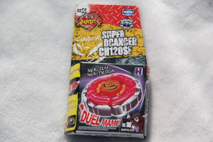 2015 New Arrive!!   Metal Fight BeyBlade Fusion BB55 Dark Cancer CH120SF No Have  Launcher