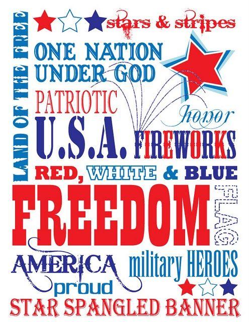 {FREE SUBWAY ART} Americana/ Patriotic theme print! | Ephemera