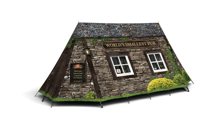 The World's Smallest Pub - Original Explorer Tent from The Stylish Camping Company