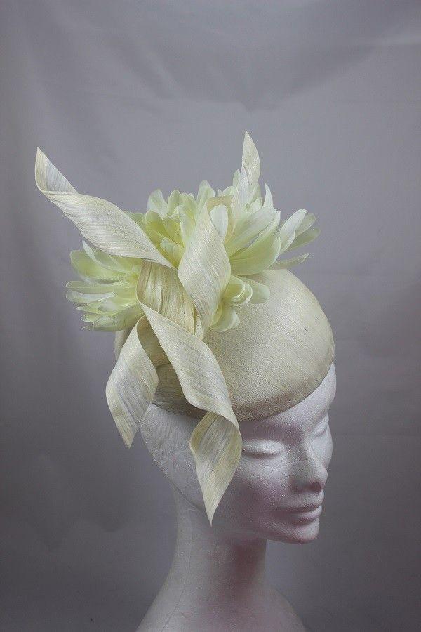 Suzie Mahony - Cream Silk Dome Twist 260euros