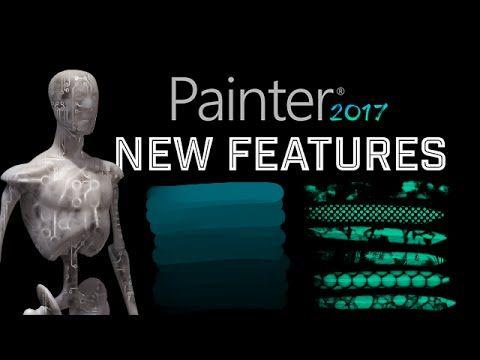 Corel Painter 2017 New Features! - #CorelPainter2017