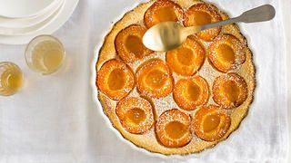 Apricot and lemon clafoutis | Gluten-free cake | SBS Food