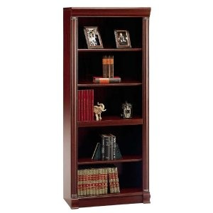 Birmingham Five Shelf Open Bookcase  Price: $180   Free shipping - Amazon