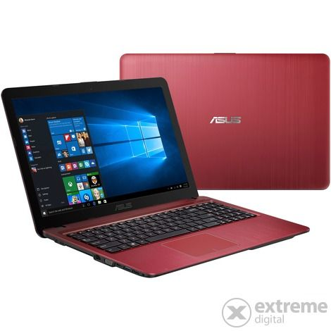 Asus VivoBook Max X541UJ-GQ025T notebook, piros + Windows 10 Home