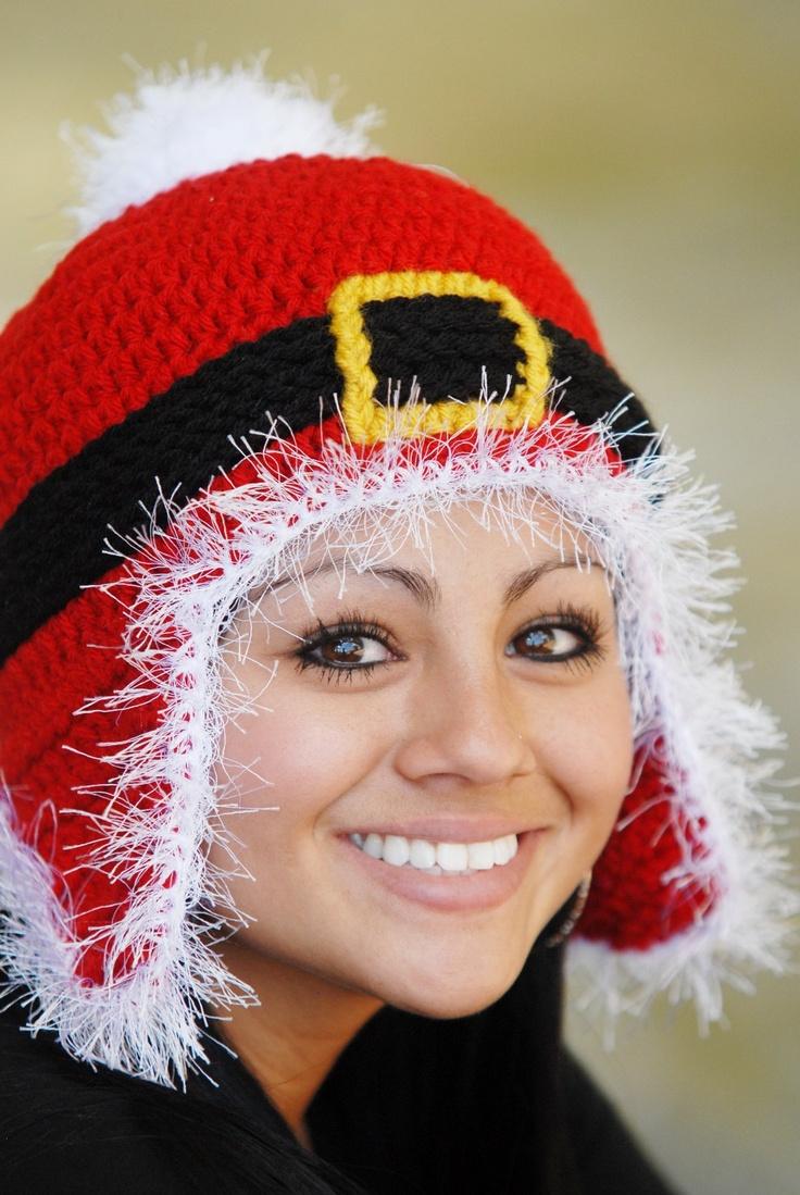 Best ideas about crochet santa hat on pinterest funny