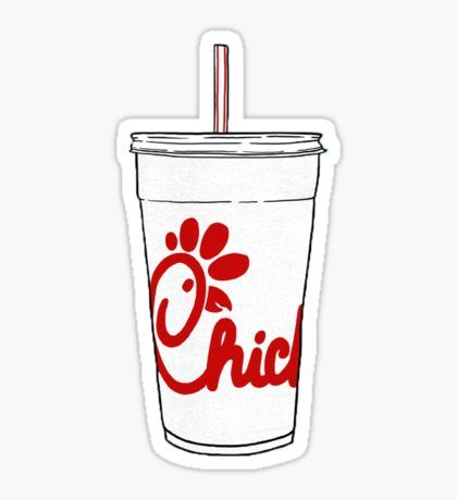 Chick-fil-A Cup Sticker