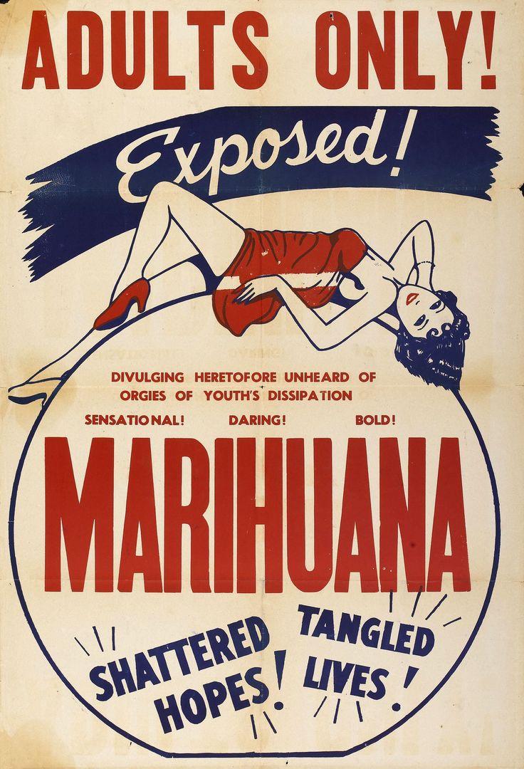 ADULTS ONLY! EXPOSED! Marihuana - Retro / Vintage Drug / Propaganda.