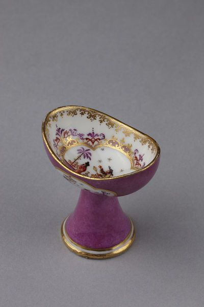 1730-1735 German (Meissen) Eye bath at the Victoria and Albert Museum, London