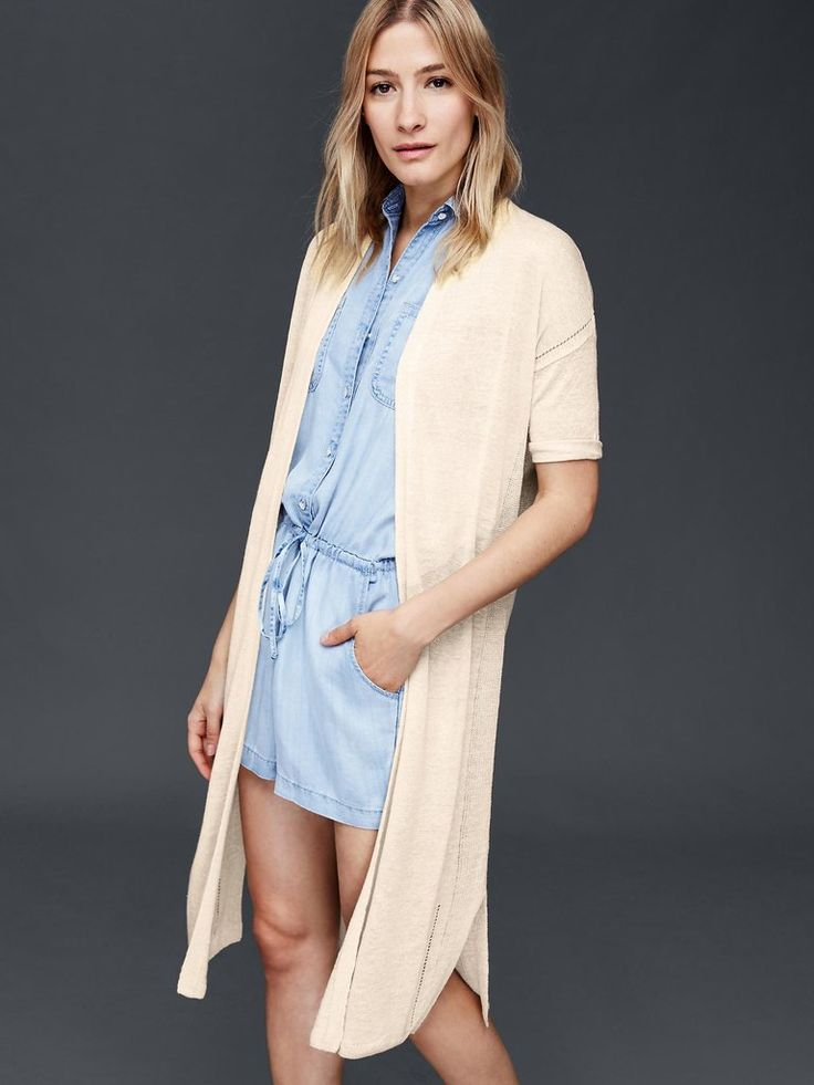 Your Summer Shopping Guide: A duster jacket that will make you look like a model