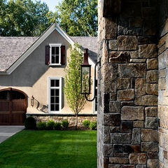 56 best images about home exteriors on pinterest acme for Stucco homes with stone accents