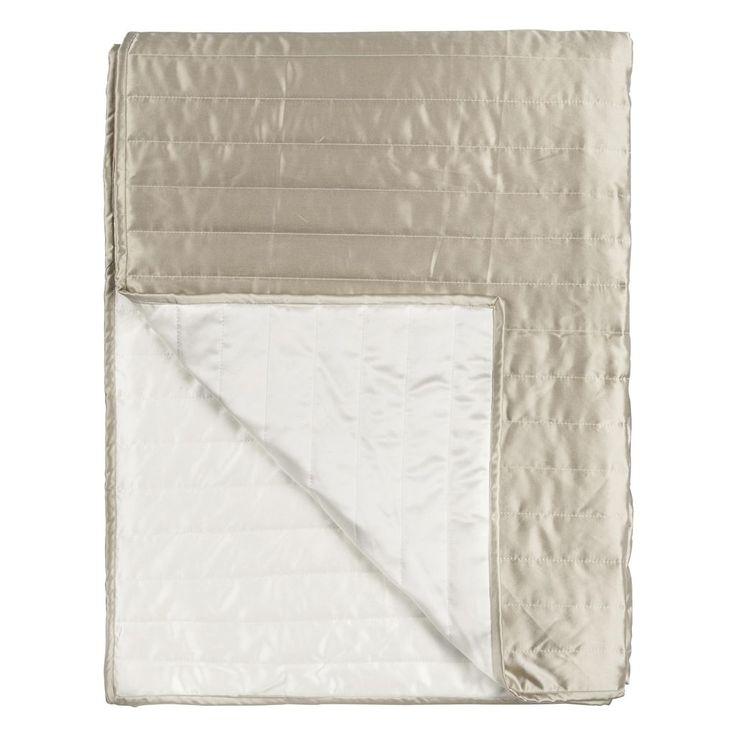 Tiber Chalk & Linen Quilts & Shams | Designers Guild