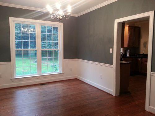 living room decorating ideas wall colours amazon com furniture 2 templeton gray, benjamin moore hc-161 - dining ...