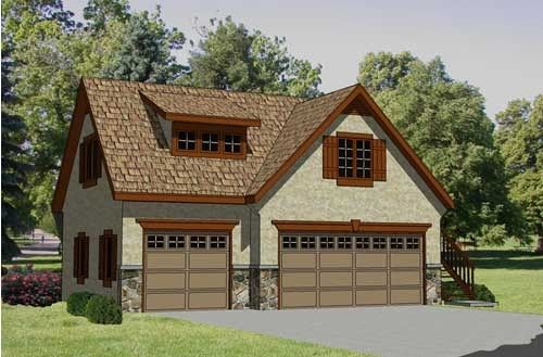 Garage plan with apartment this is the best design i 39 ve for Separate garage