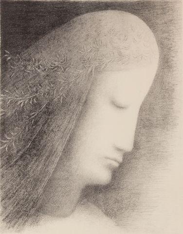 Zrzavý Jan (1877–1942) | Ověnčená hlava, 1973 | Aukce obrazů, starožitností | Aukční dům Sýpka