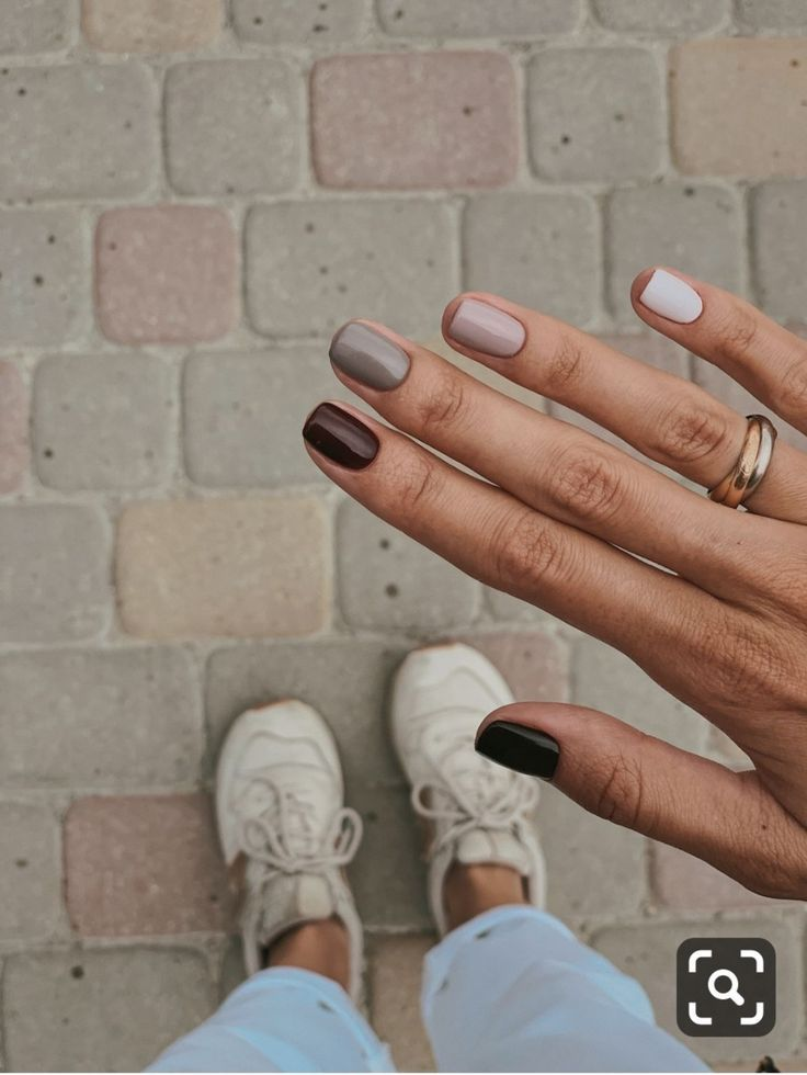 Neutral Nail Inspo In 2020 Minimalist Nails Nails Inspiration Cute Nails
