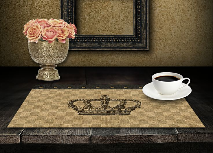 Table Trends - Burlap and Linen Paper Placemats at Sussies Home