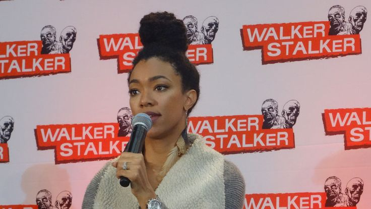 We saw the Q&A of Sonequa Marin-Green (The Walking Dead) at Walker Stalker Con London