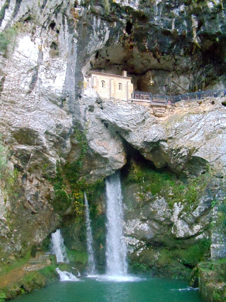 Santa Cueva de Covadonga, Covadonga, Asturias, Spain #cave ...