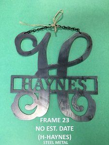 25 Best Ideas About Door Initial On Pinterest Initial