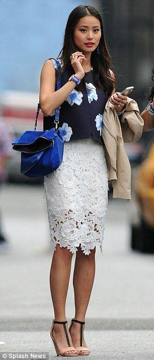 Jamie Chung #lace,  #chung #jamie, Celebrity Style Box,