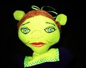 From: Gotta Love Those Ears!  Fiona hand puppet.