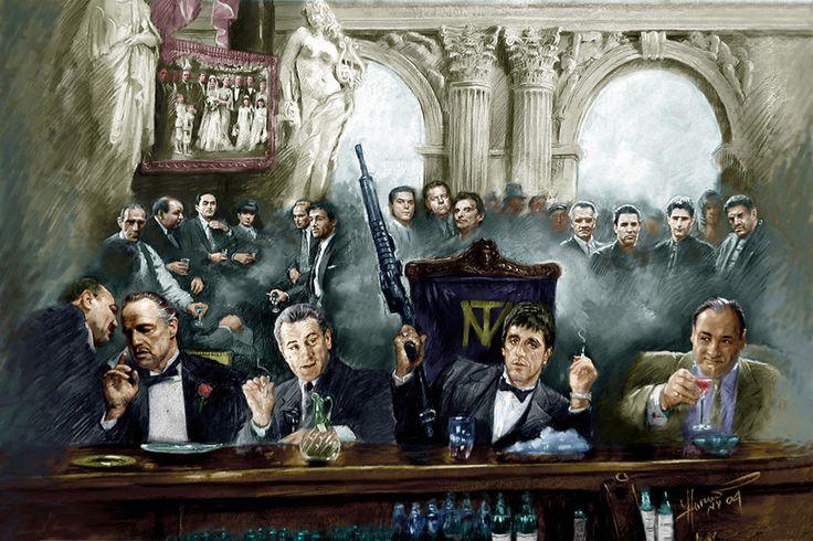 The Godfather - Scarface - Goodfellas
