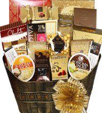 Chocolate Indulgence Holiday Gift Baskets