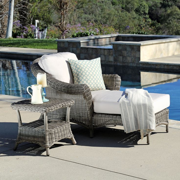 Amelia Chaise Lounge | Thos. Baker · Furniture DecorOutdoor ...