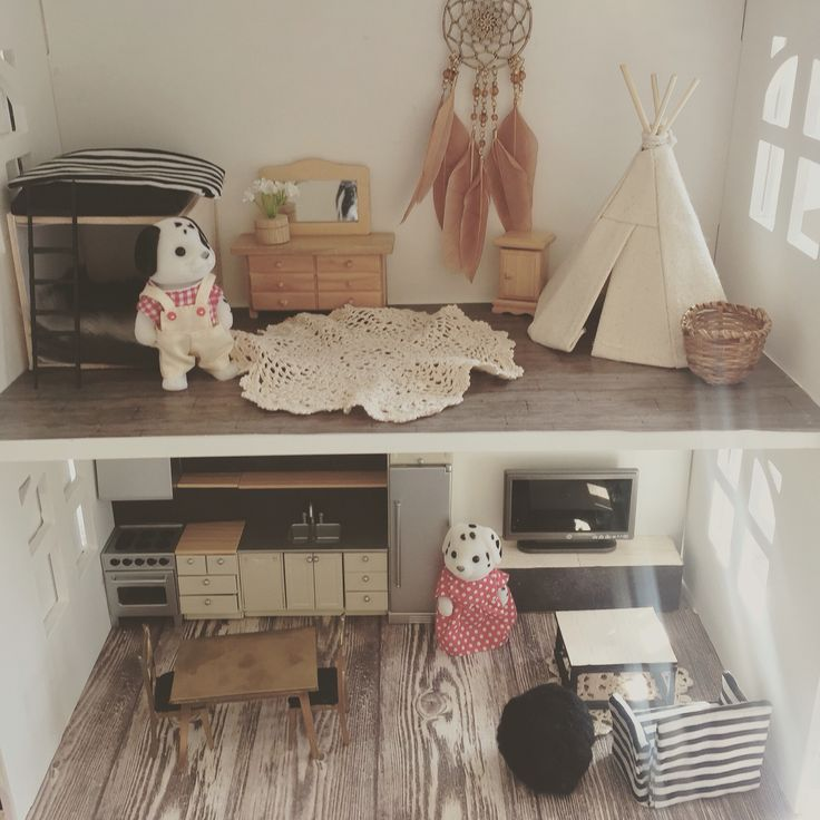 87 best Calico Critters images on Pinterest | Dollhouse ideas, Child ...