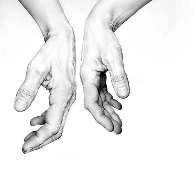 Amazing hands by the artist cath riley