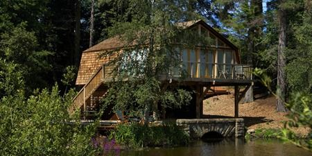 The Boathouse, unusual self catering holiday accommodation | Middleton Hall I really like this one!