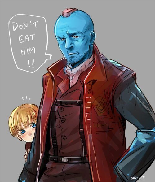 Yondu might not have protected Peter out of the goodness of his heart, but he kept him alive to become a guardian and leader.