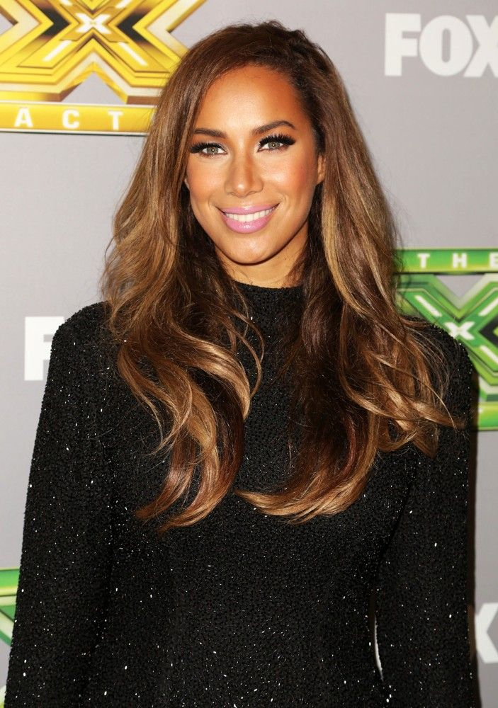Leona Lewis hair and makeup