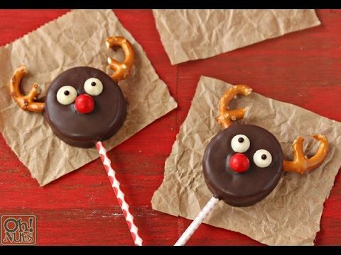 How to make Reindeer Oreo Cookie Pops !