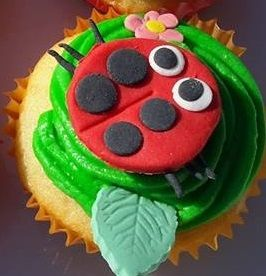 Bug themed Cupcakes