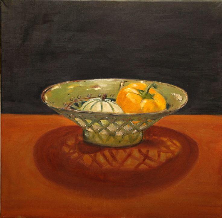Oil painting. 55x55 cm.