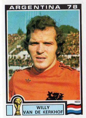 Willy van de Kerkhof, Holland 1974