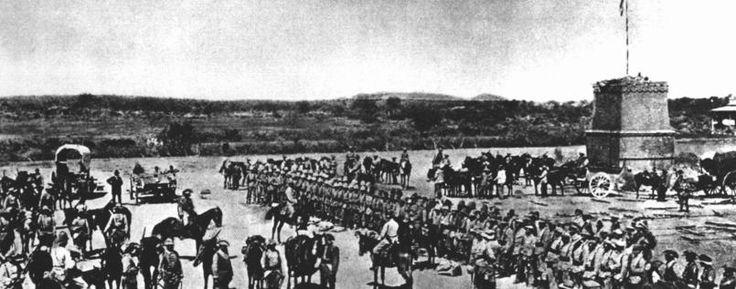 Deutsche Truppen töteten in der damaligen Kolonie Deutsch-Südwestafrika im heutigen Namibia Zehntausende Herero und Nama.