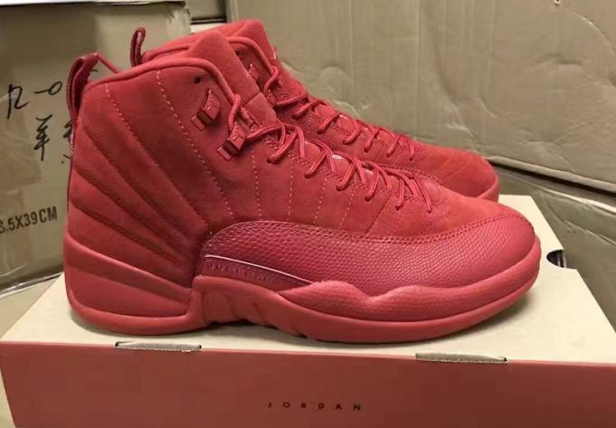 classic fit d3671 37672 Air Jordan 12 Red Suede | Work Outfits | Fashion, Air ...