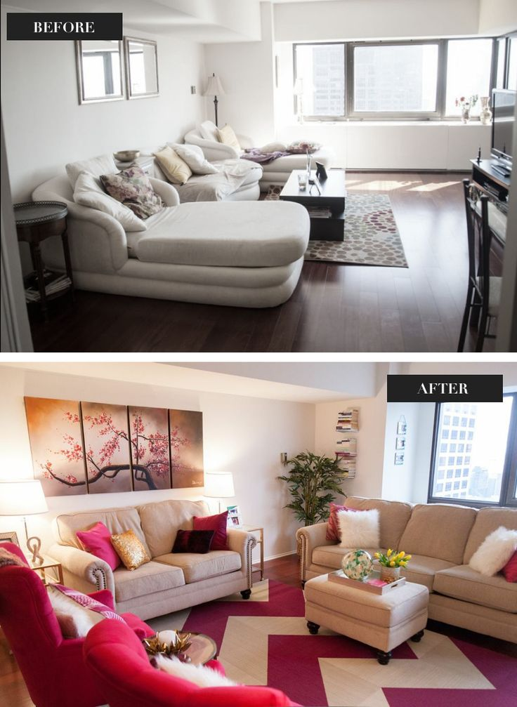 57 Best Before After Home Decorating Images On Pinterest Before After Living Room And Living