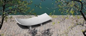 Mobilum - Mobilier urbain design en BFUP - béton fibré