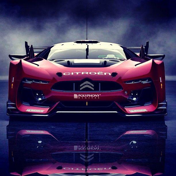 Sensational Citroen Race Car
