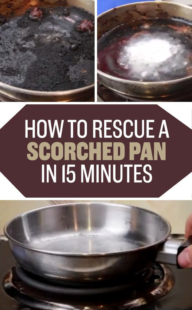 Polish up an old pan using water and cream of tartar. | 21 Brilliant Cleaning Tricks That Will Make Your Life So Much Easier